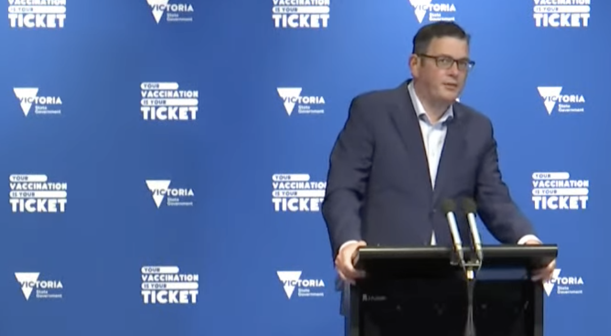 Dan Andrews threatens to 'lock out' the unvaccinated well into 2022