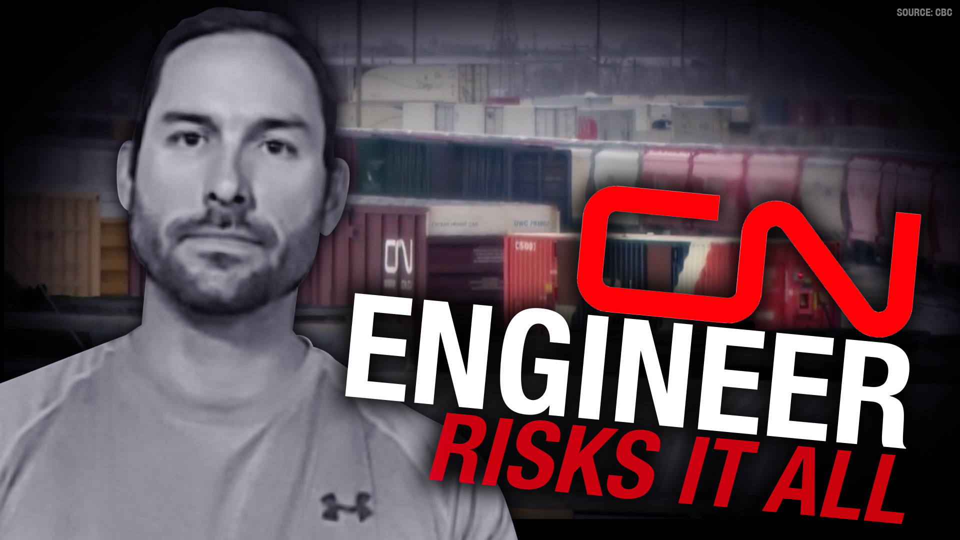 RAILROADED: CN employee's job in jeopardy for refusing vaccine