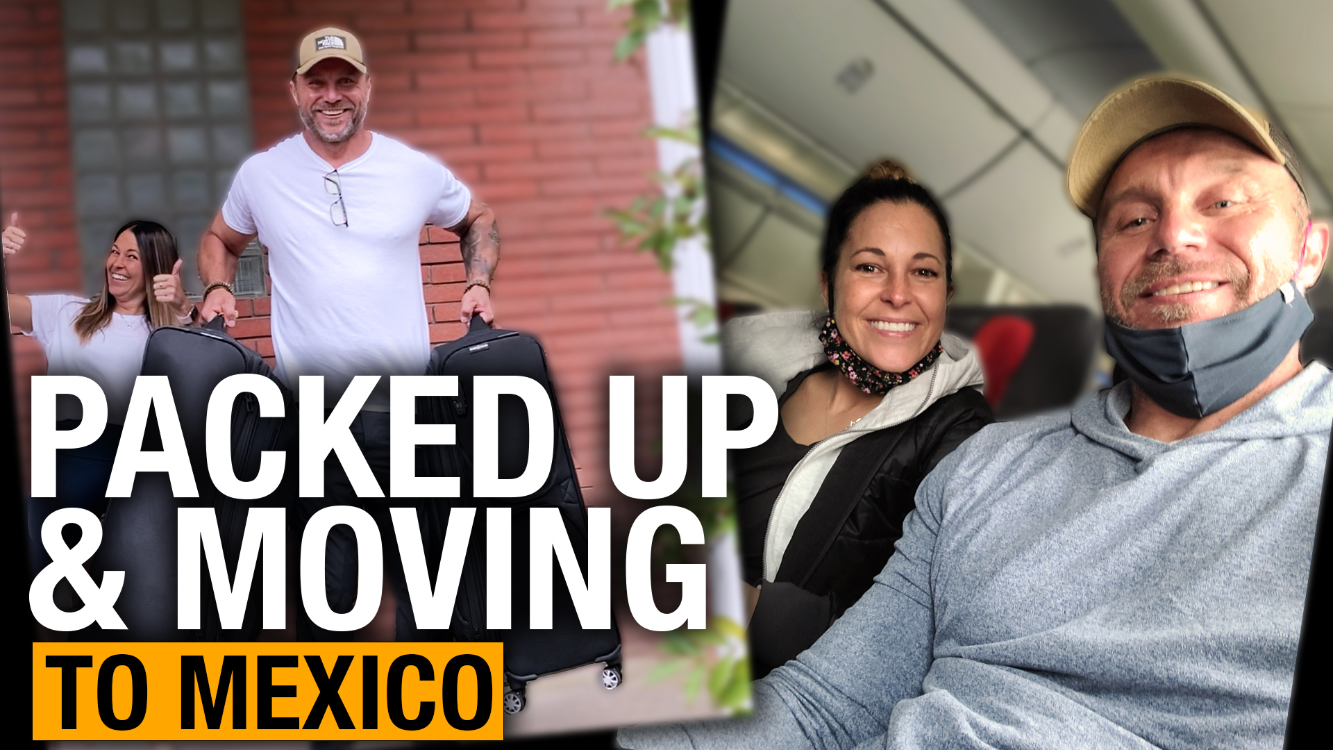 Canadian couple sells everything, moves to Mexico to be free