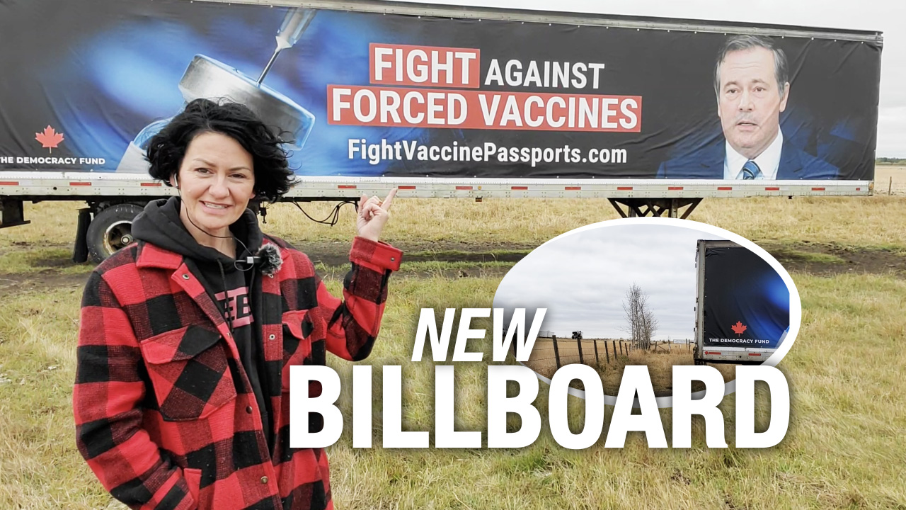 Have you seen our Fight Vaccine Passports billboard yet?