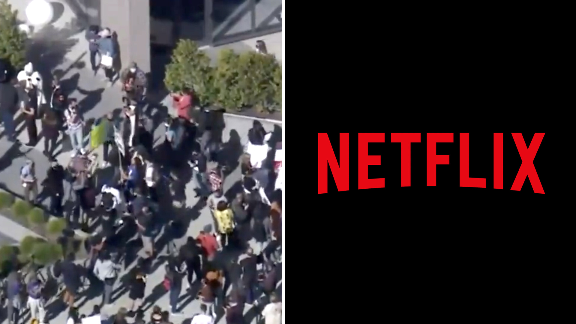 'We like Dave': Pro-Dave Chappelle protesters counter anti-Netflix trans activists
