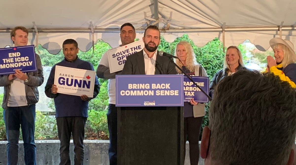 BREAKING: B.C. Liberal Party denies political commentator Aaron Gunn's leadership bid
