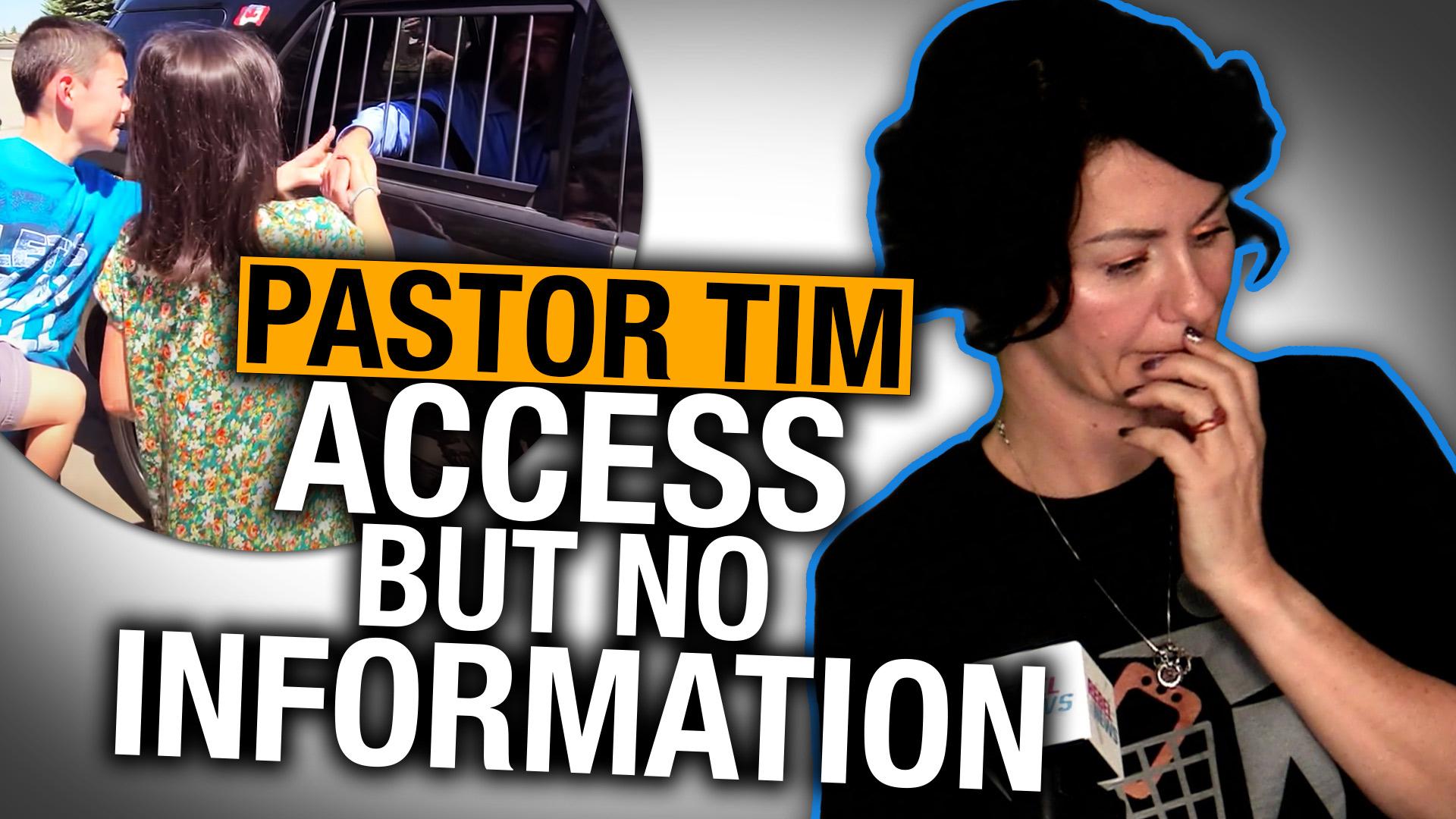 Alberta redacts entire Pastor Tim Stephens document release