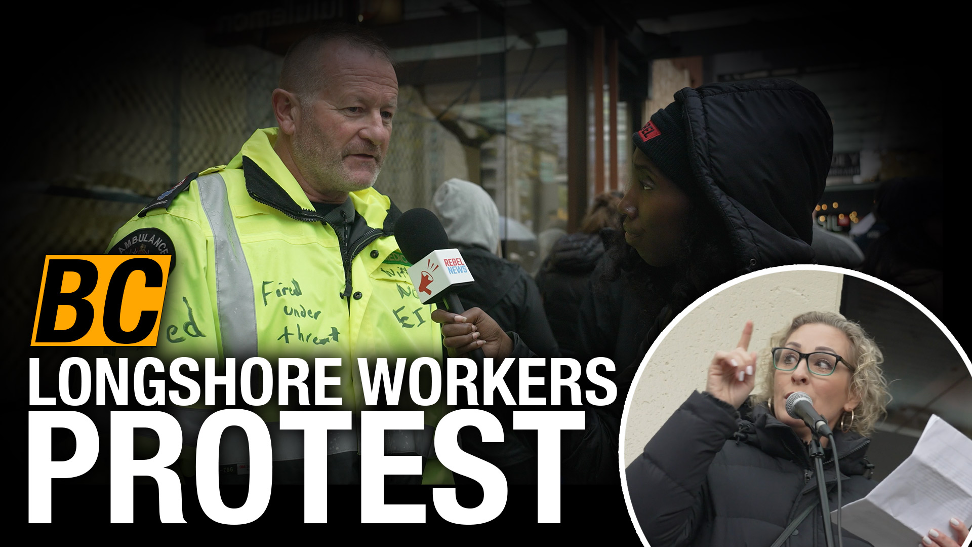 Vancouver supporters join longshore workers' union in opposition to mandatory COVID vaccines