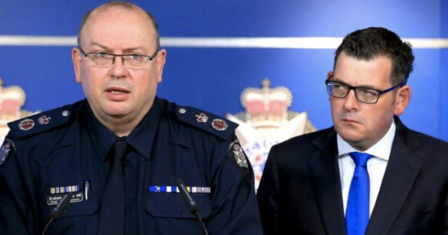 Dan's new Bill allows Police to JAIL mask breachers