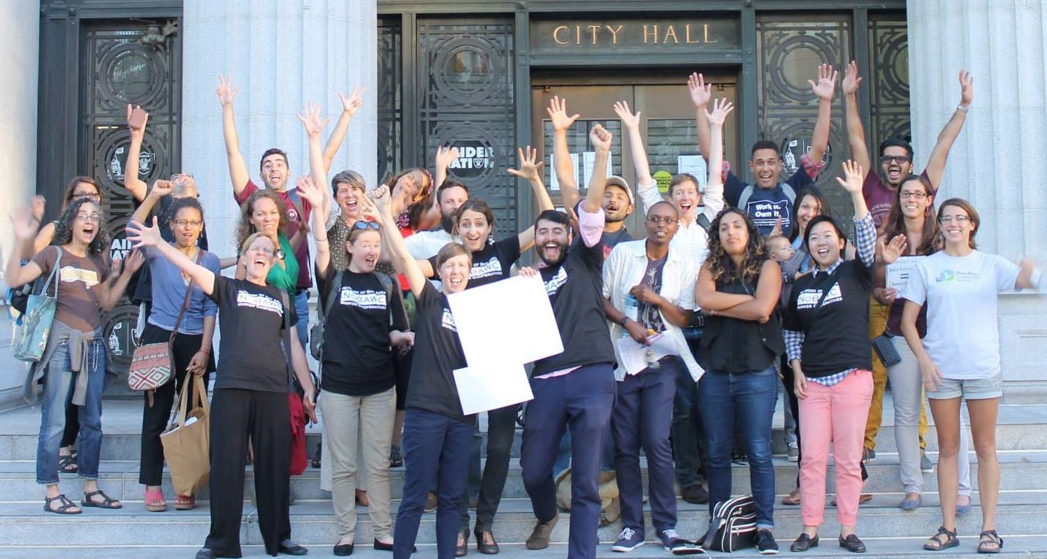Oakland passed the resolution to support worker coops!