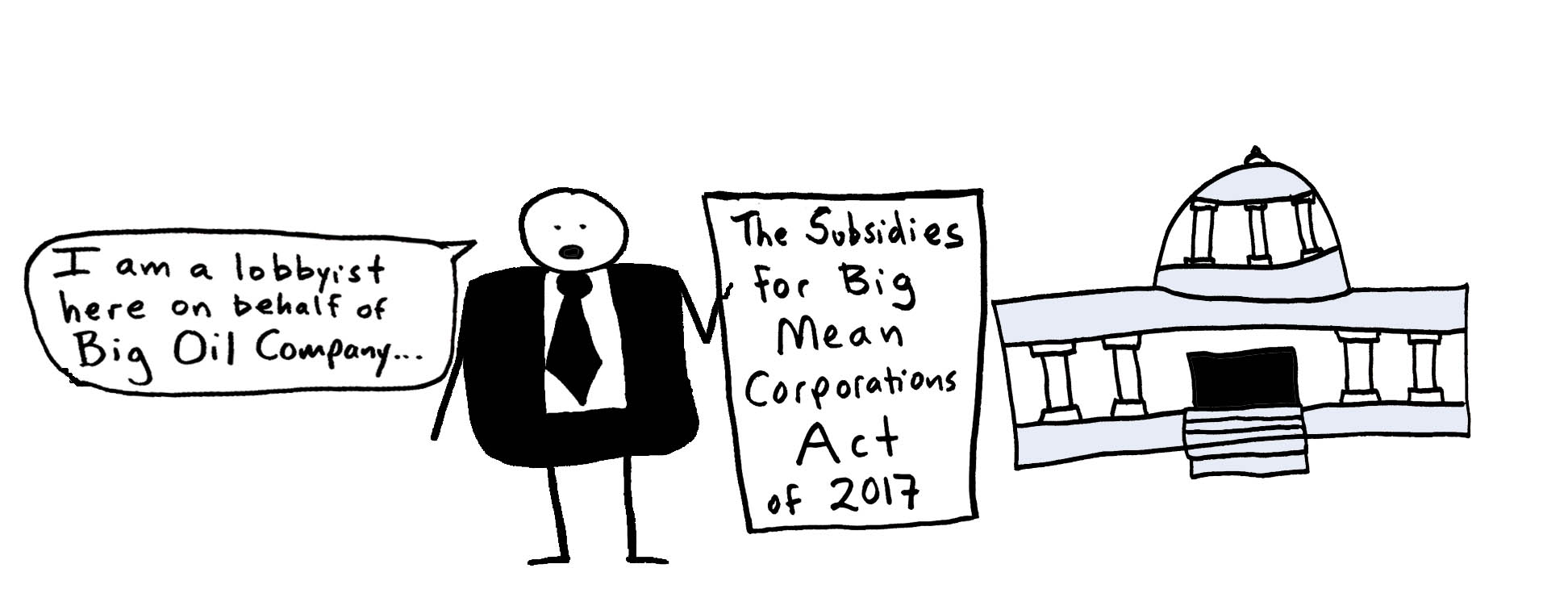 Corporate lobbyists make policy!