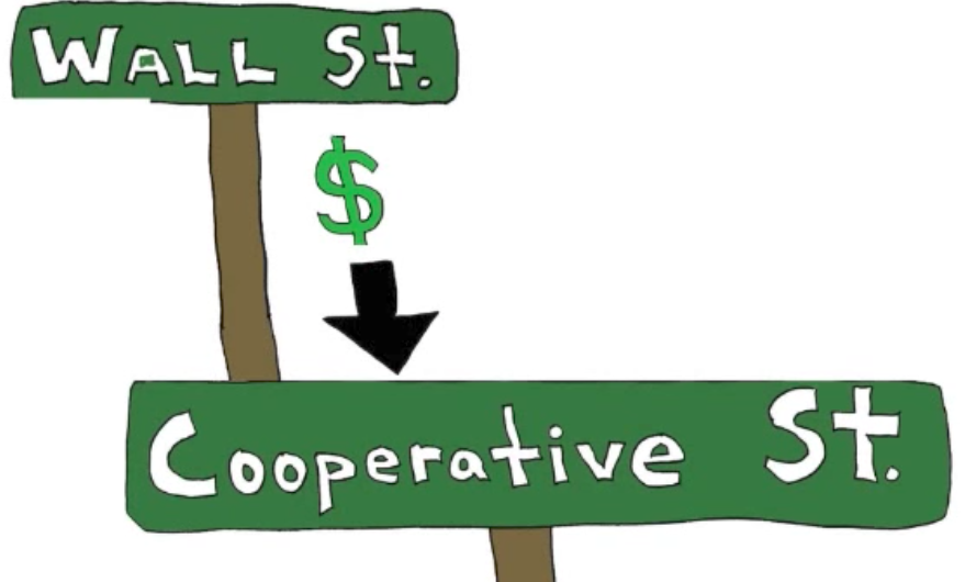 Wall St to Cooperative St