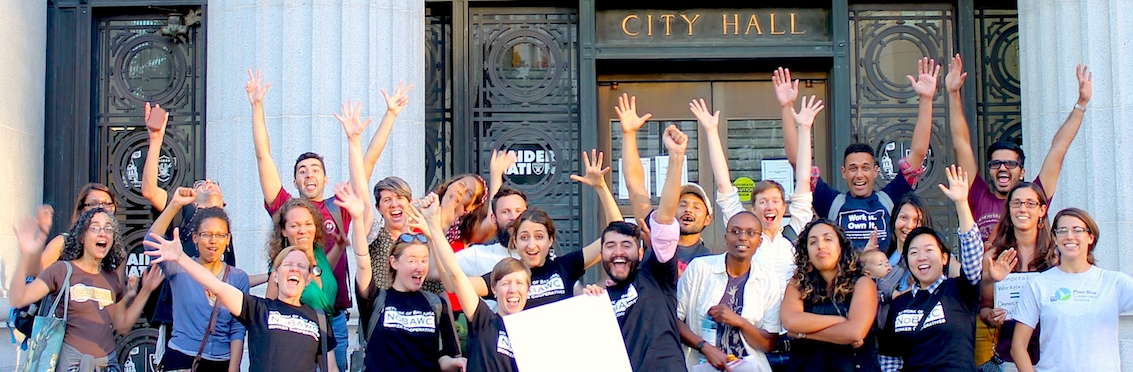 We've done it before. We can do it again! Pushing policies that promote worker cooperatives!