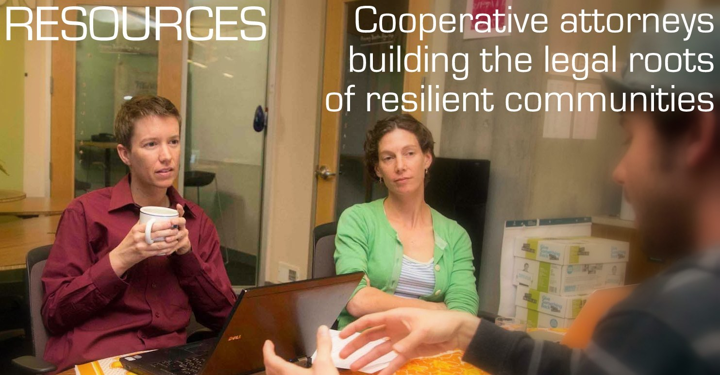 Worker Cooperative Resources for those looking to start, expand, or convert to worker ownership!