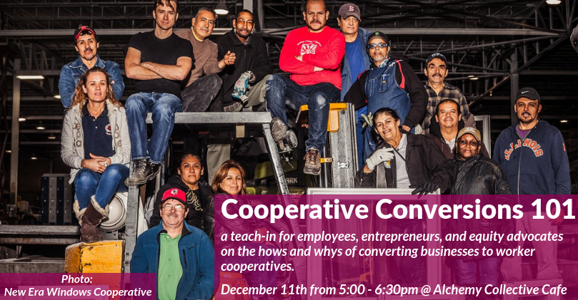 Come learn why converting businesses to cooperatives benefits sellers, workers, and communities. We'll provide an overview of those benefits, models and examples of businesses converting to cooperatives, and some of the legal steps and considerations owners and employees should know before moving forward.