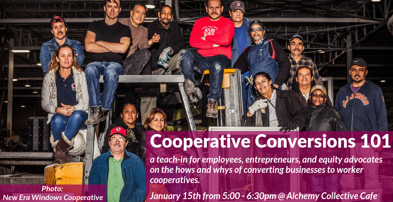 Cooperative conversions are one of the most useful tools we can use to build equity in our communities. Join us!