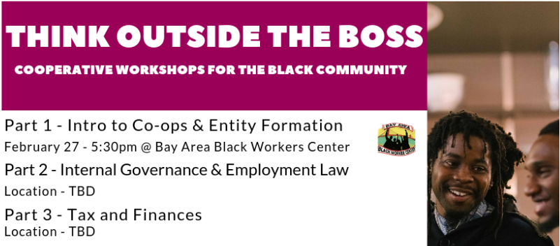 Think Outside the Boss for the Black Community