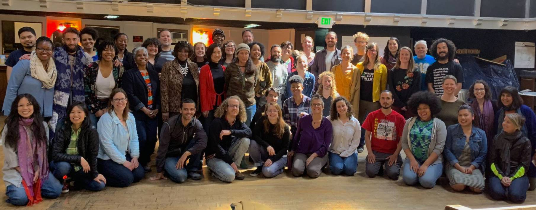 Participants in the 2019 Nonprofit Democracy Network