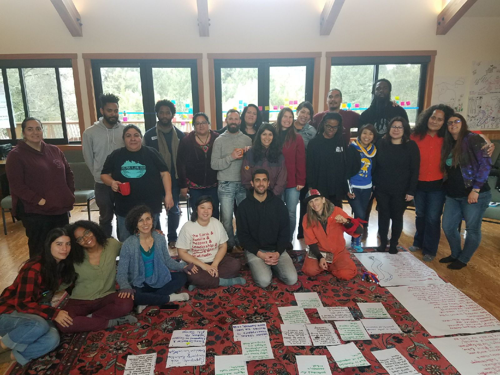 Participants at the Bay Area Land Justice Convening