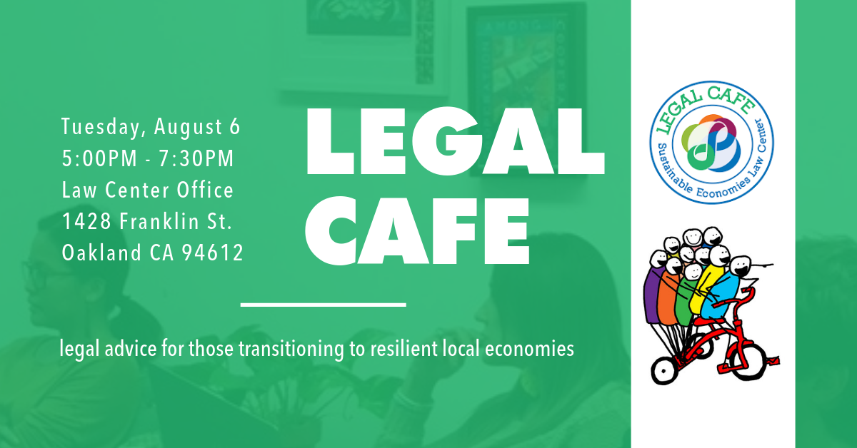 622f68b5b9c The Resilient Communities Legal Cafe is a first-come, first-serve,  donation-based legal advice clinic, providing a collaborative space for  community ...