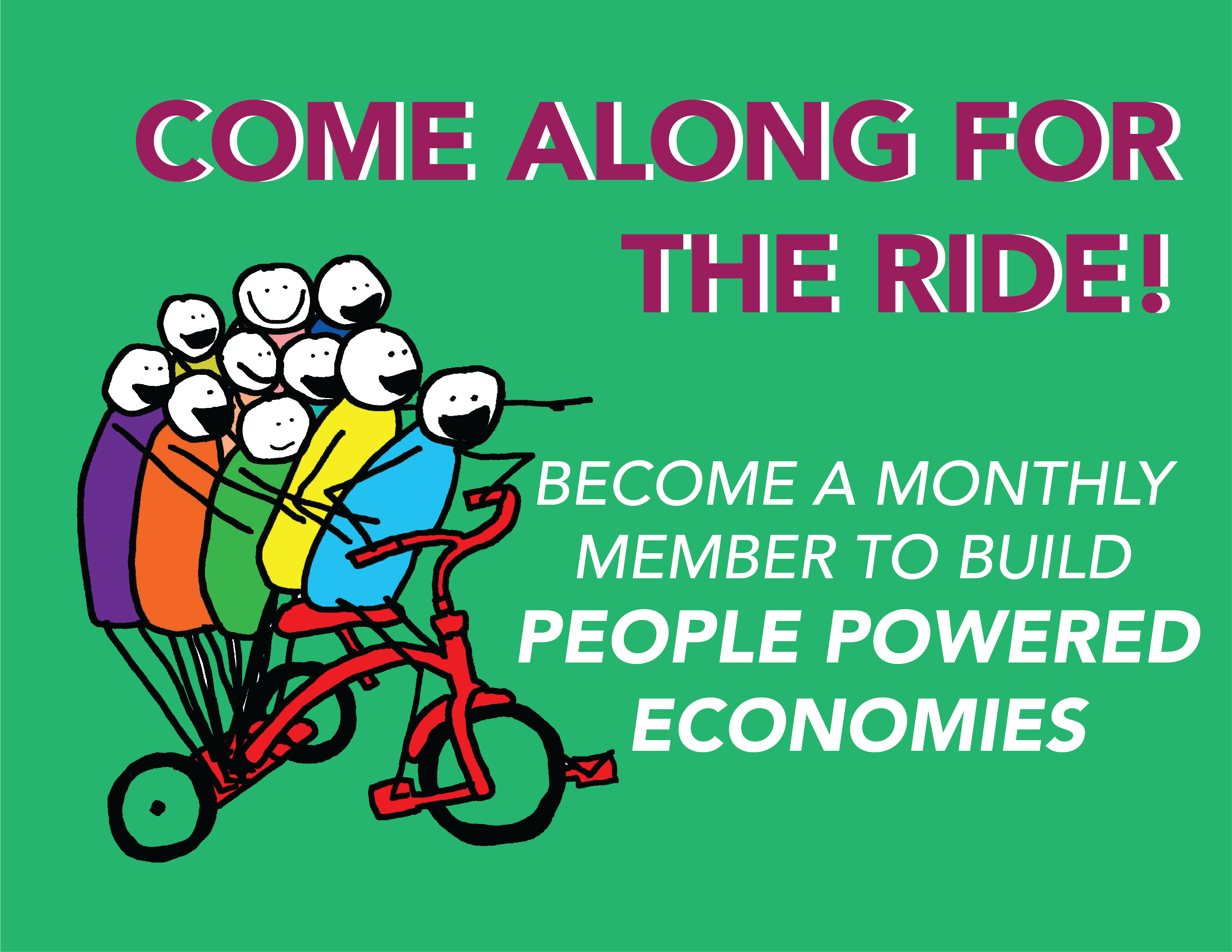 Support People Powered Economies by donating to SELC's Spring Campaign