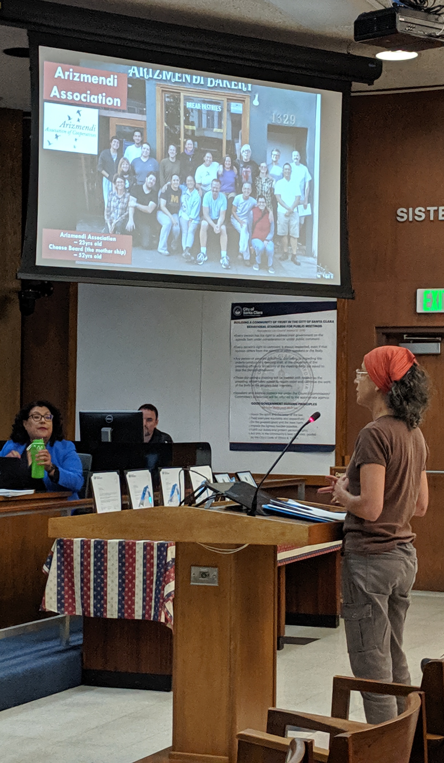 Sue from Arizmendi Association of Cooperatives