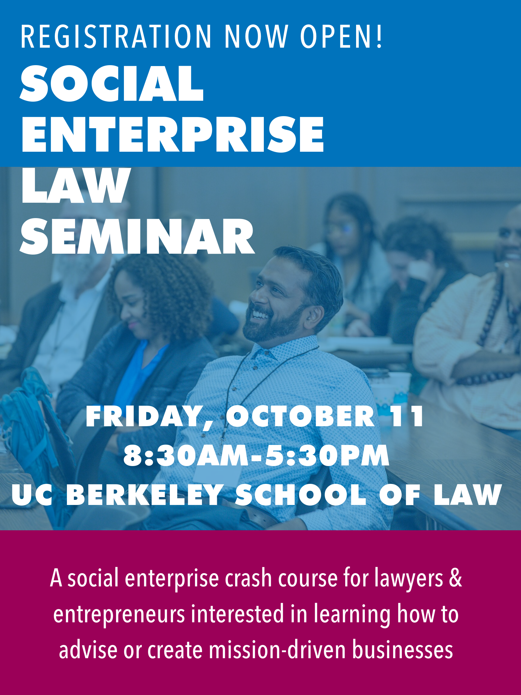 2019 Social Enterprise Law Seminar