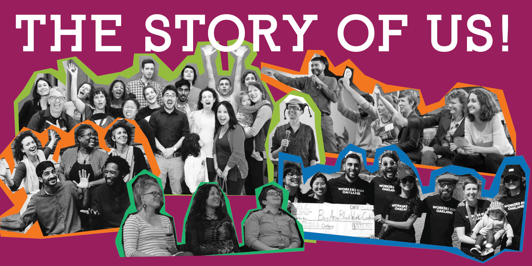 Is the story of you, the story of me, the story of us!