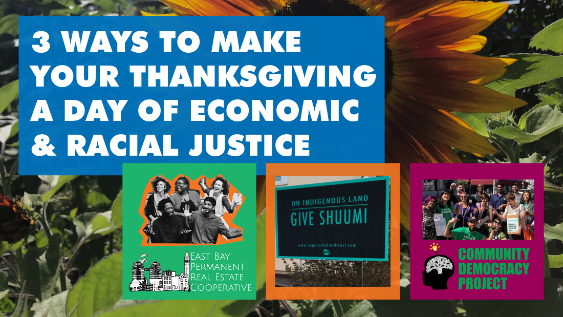 3 Ways to Make Your Thanksgiving a Day of Economic and Racial Justice