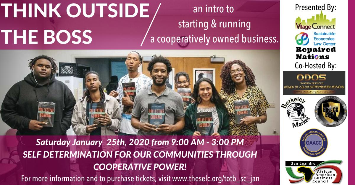 Black Self Determination Through Cooperative Power!