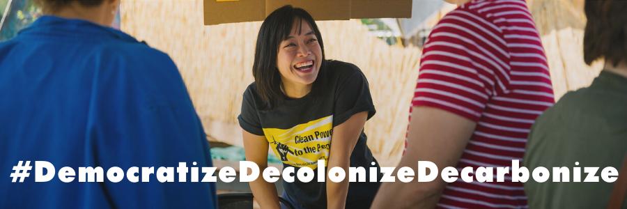 How to #DemocratizeDecolonizeDecarbonize land in a decade
