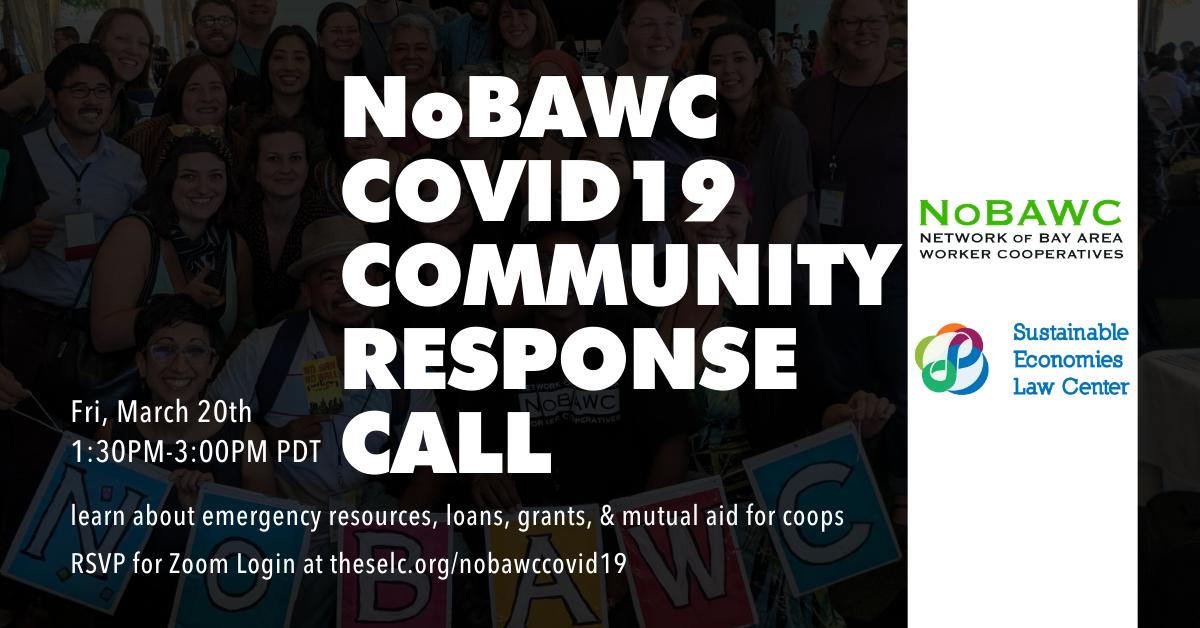 NoBAWC COVID-19 Community Response Call