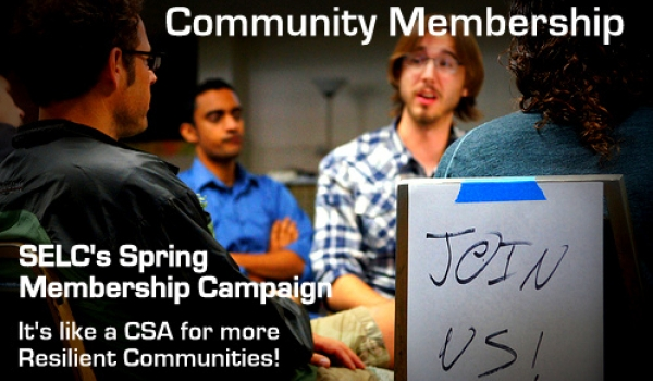 Become a Member! Support resilient economies!