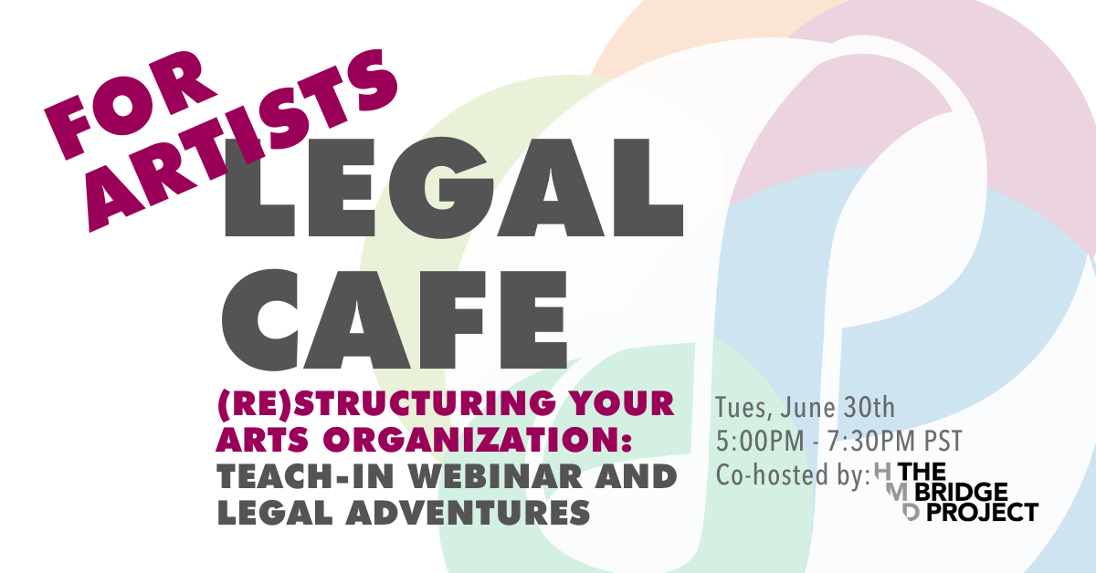 Art Themed Legal Cafe Banner