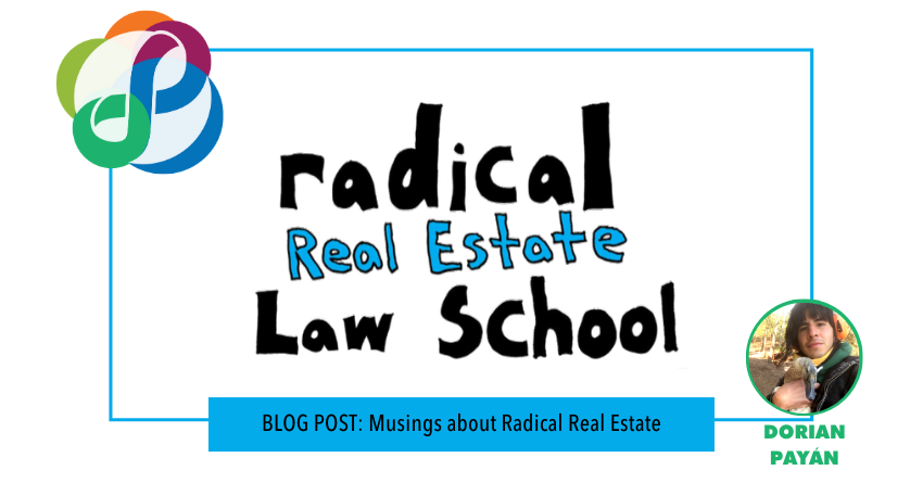 Musings on Radical Real Estate - The Law Center Hosts First Community Discussion