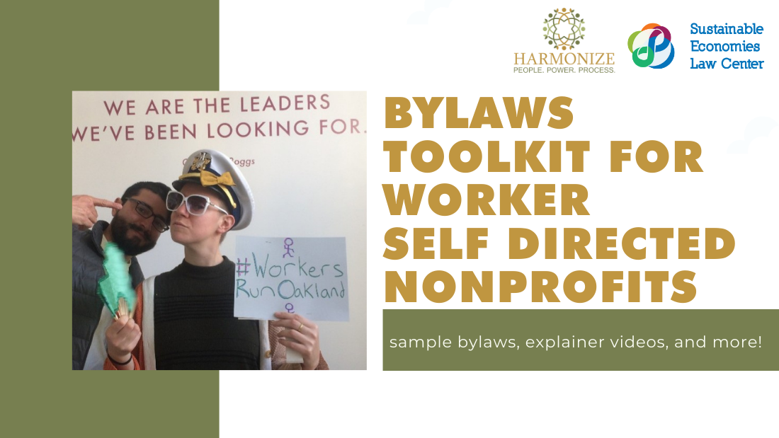 toolkit for worker self directed nonprofits