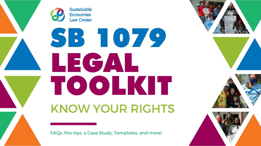 SB 1079 Legal Toolkit