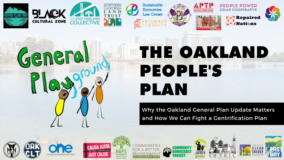 Announcing The Oakland People's Plan