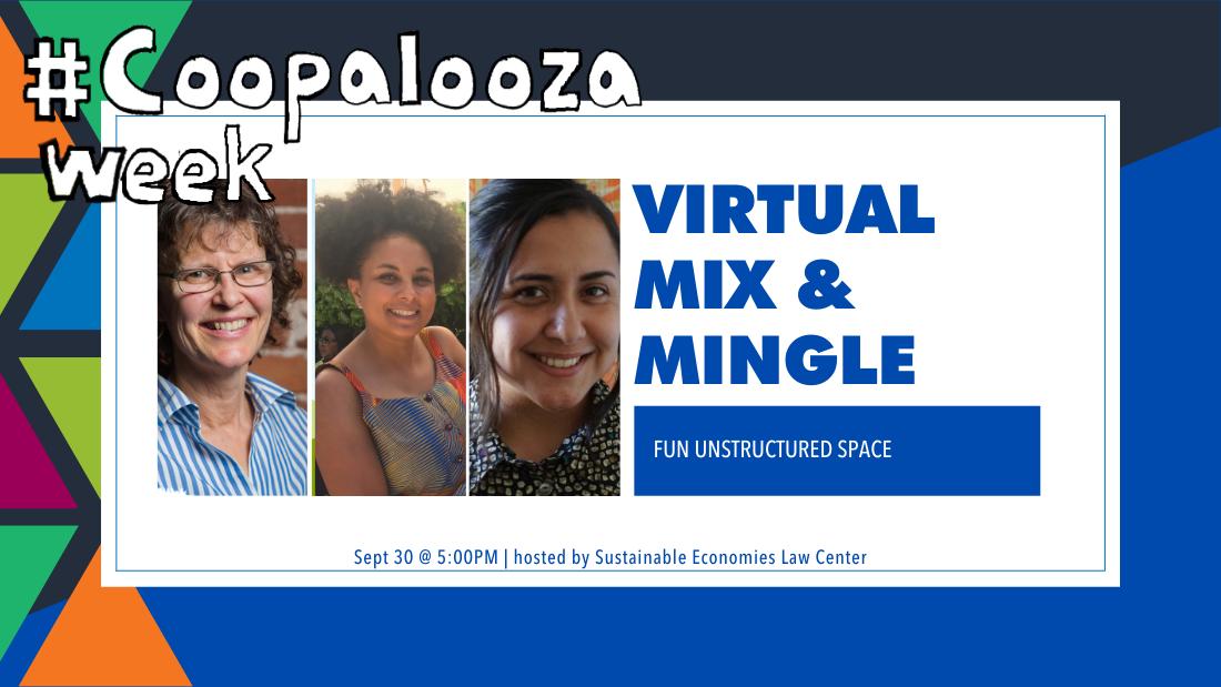Virtual mix and mingle