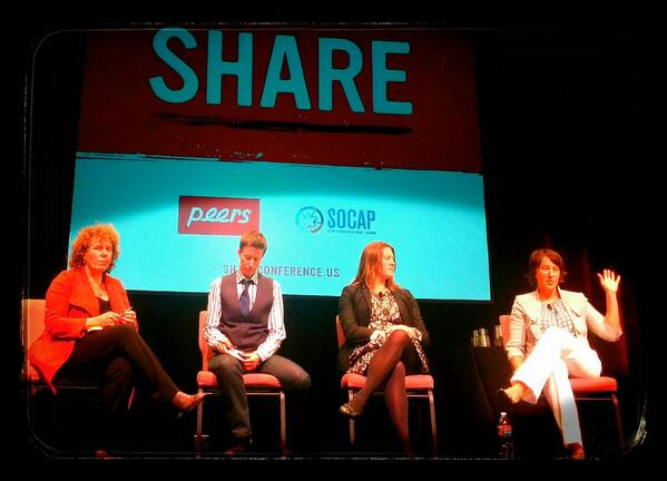 Janelle at the SHARE Conference