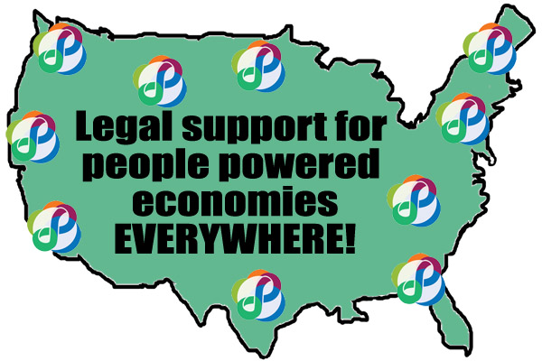 LEGAL SUPPORT FOR PEOPLE POWERED ECONOMIES