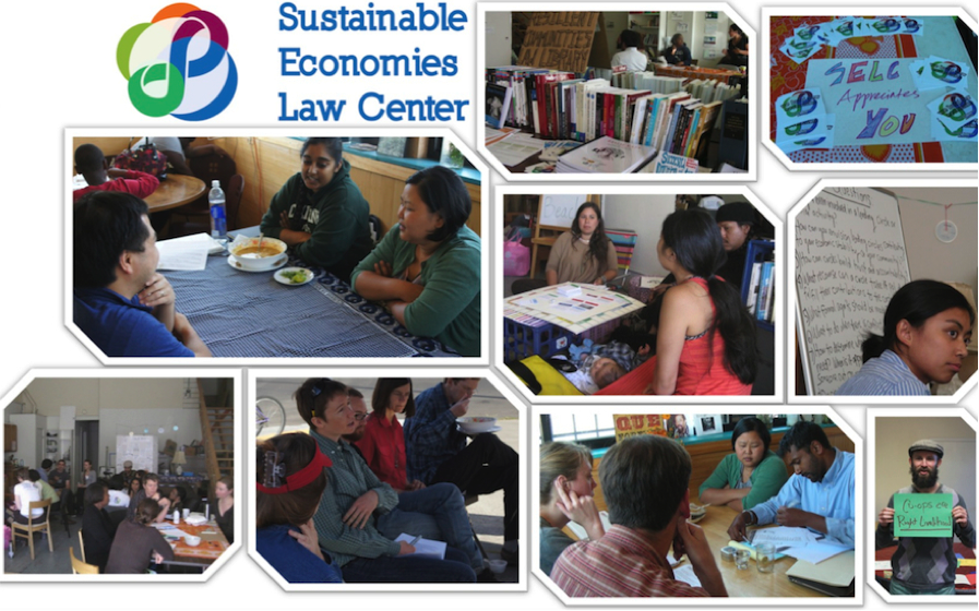 SELC's Legal Cafe in action