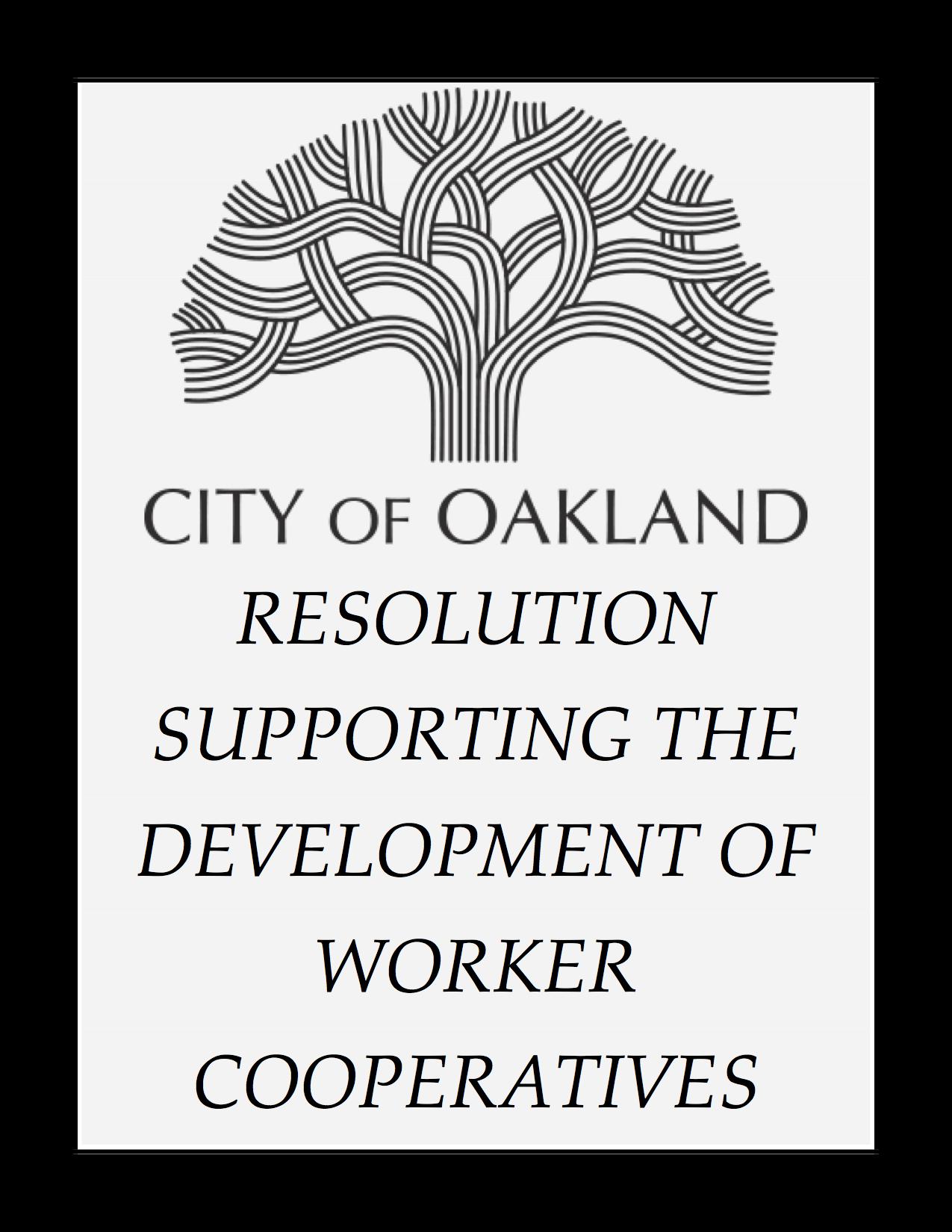 Worker Coop City Policies - Sustainable Economies Law Center