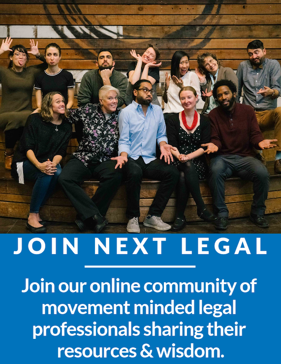 Learn about our online platform for legal professionals and law students interested in building just and resilient economies!