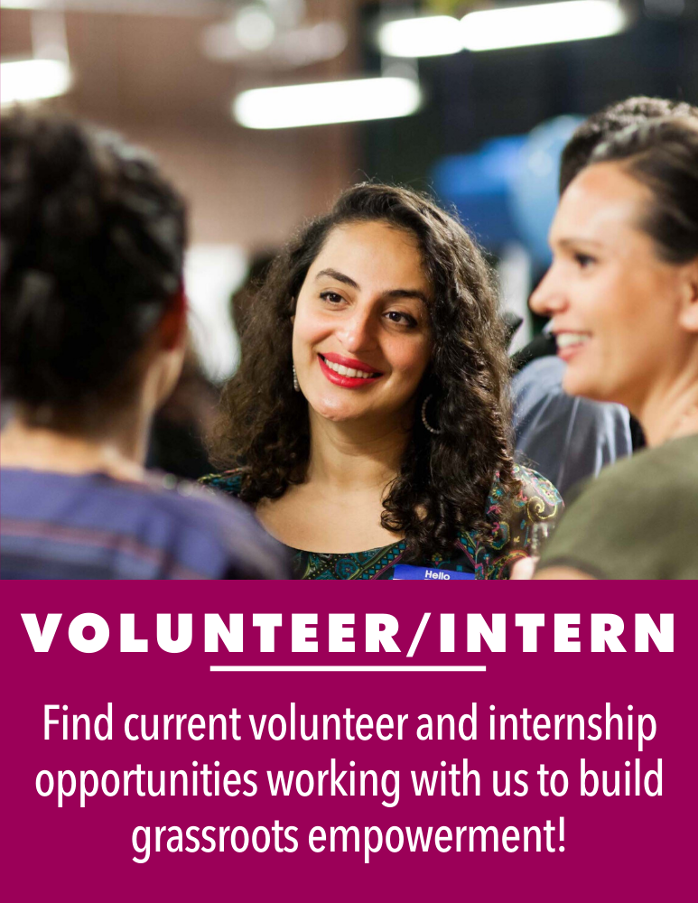 Find current opportunities to volunteer or intern at the Law Center!