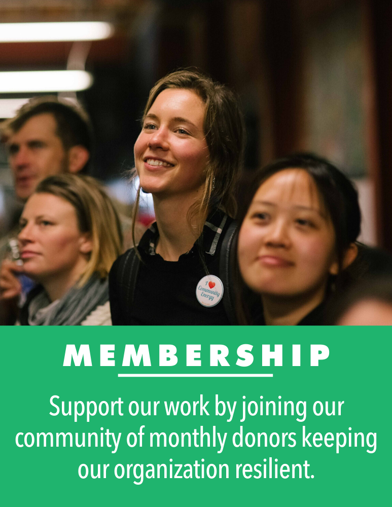 Support us monthly by becoming a monthly donor!