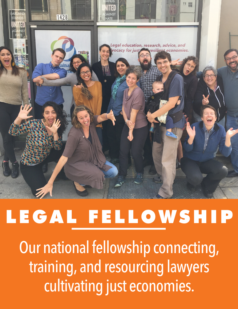 Join this year's cohort of Sustainable Economies Legal Fellows