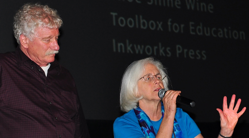 award winning Seattle filmmakers Mark Dworkin and Melissa Young