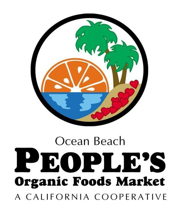 Ocean Beach Peoples Organic Food Cooperative is sponsoring our event by providing lunch!