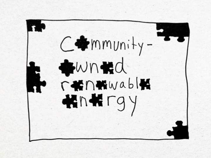 Community-Owned Renewable Energy