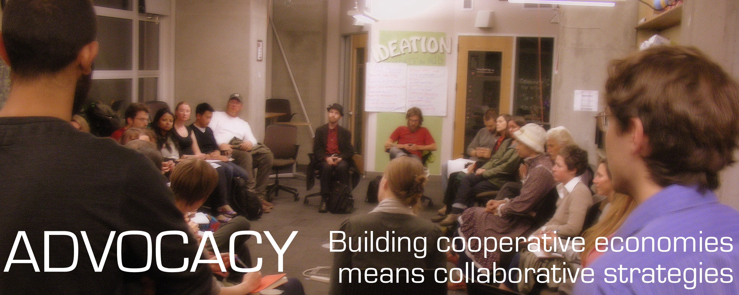 Cooperative advocacy is amazing! Join Us!
