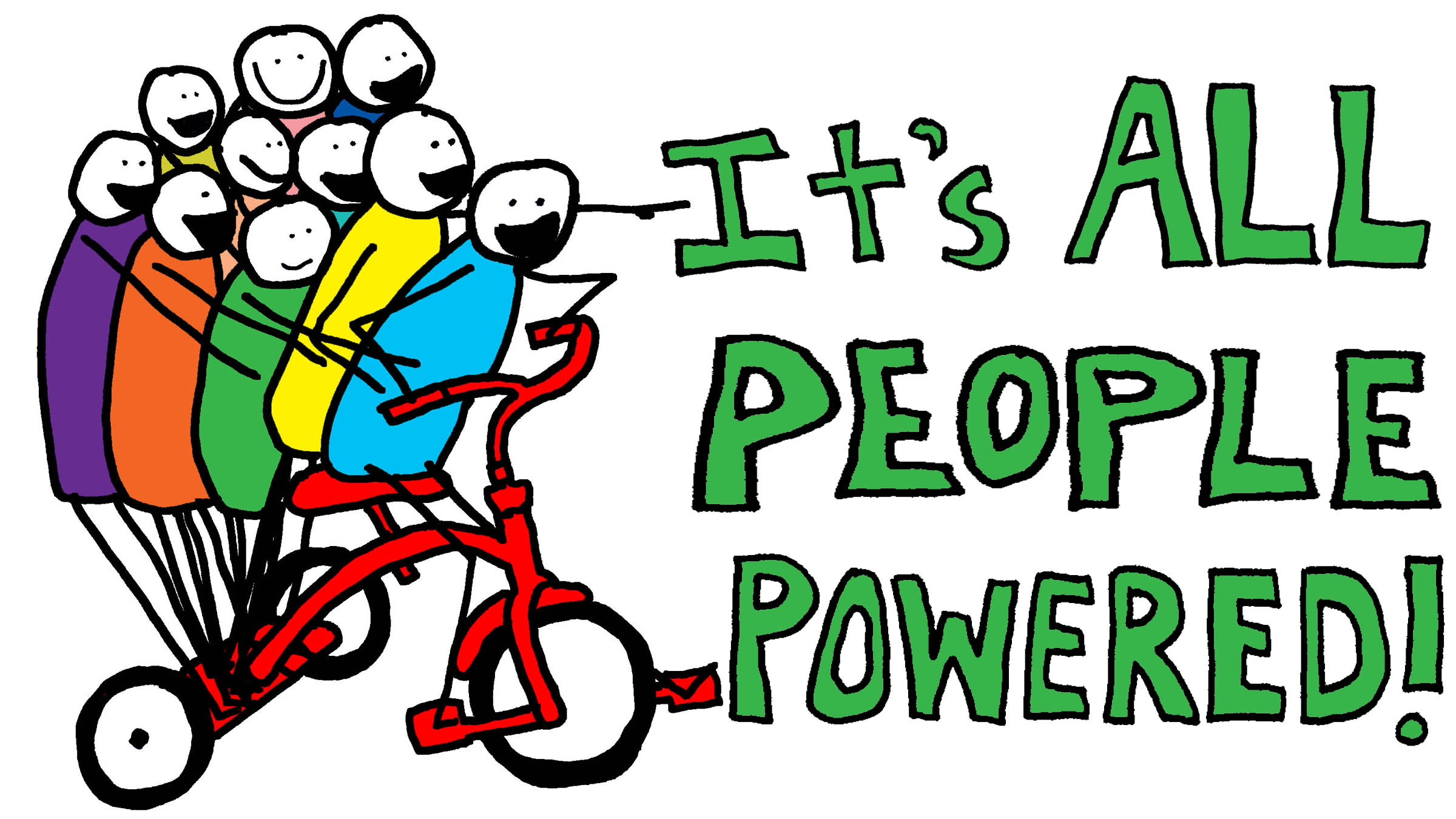 It's all people powered!