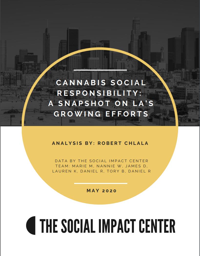 Cannabis Social Responsibility
