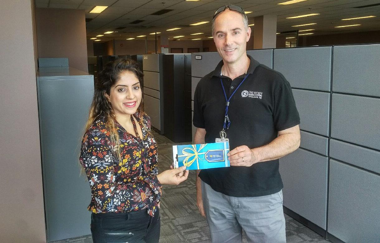 YPN gift card winner